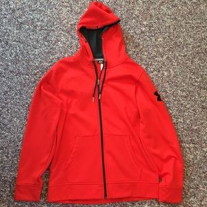 Red Under Armour Jacket Excellent Condition